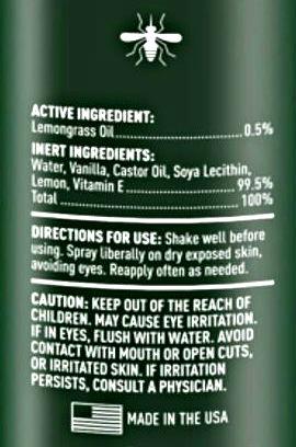 Medella Naturals Mosquito Insect Repellent 4 oz
