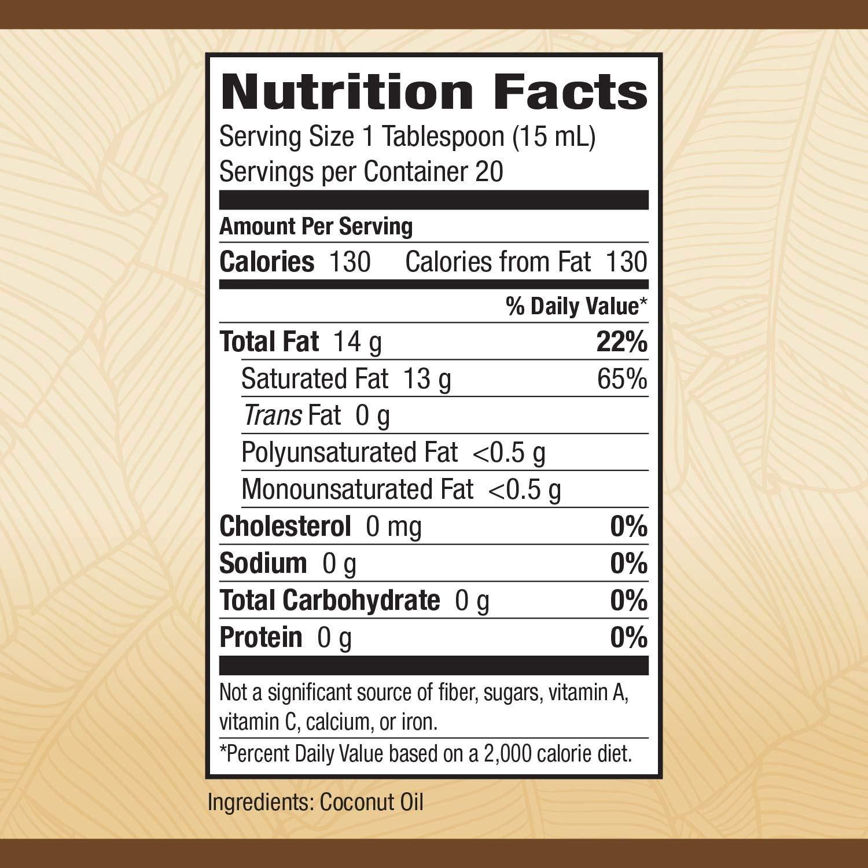 Nature's Way Liquid Coconut Premium Oil 20 oz